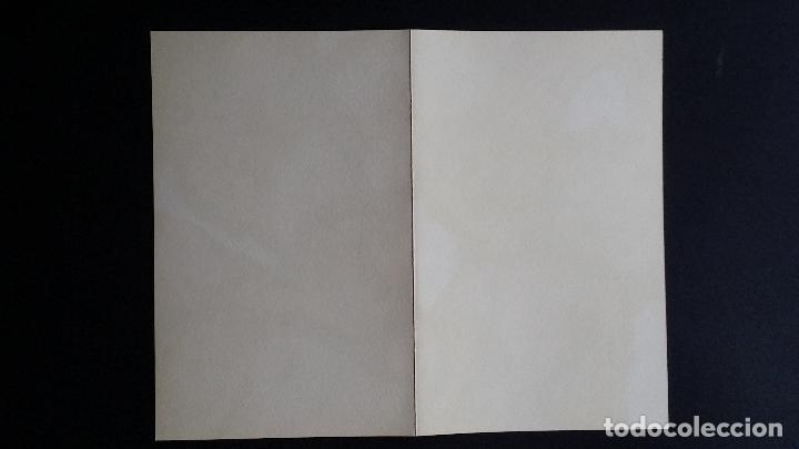 Arte: Antonio SAURA / André Velter: L'enfer et les fleurs 4 / litografía en Archés, 40 ejemplares / 1988 - Foto 8 - 159769846