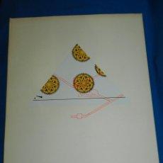 Arte: (M) LITOGRAFIA OBRA GRAFICA JOAN BROSSA , TIRAJE 20/90 50X38 CM, BUEN ESTADO. Lote 160151662