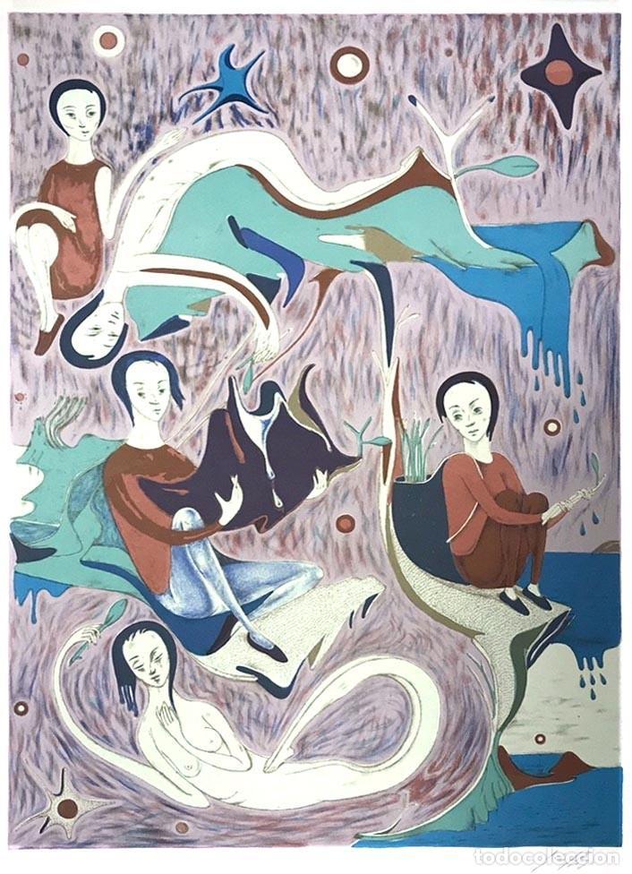 GABRIEL RIGO (1947) (Arte - Litografías)