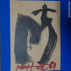 Arte: LITOGRAFÍA ANTONI TAPIES.. Lote 181436357