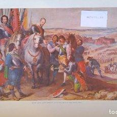 Arte: LITOGRAFÍA OFFSET LEONARD JUSEPE-JULIERS SURRENDER-CON Nº DE SERIE.OIL ON CANVAS-D.L.B.5893. Lote 161557502