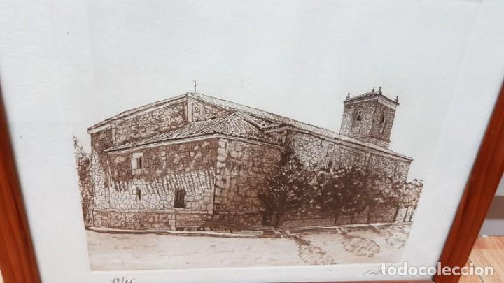 Arte: LITOGRAFIA CASTILLO Firmada Cases 17/25 - Foto 3 - 162386046