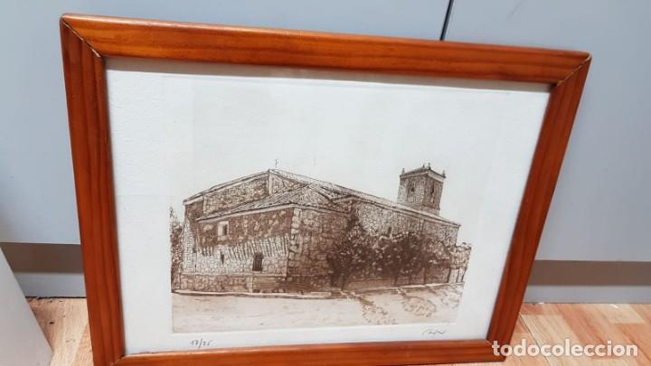 Arte: LITOGRAFIA CASTILLO Firmada Cases 17/25 - Foto 4 - 162386046