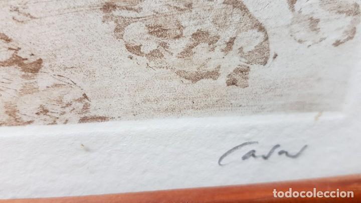 Arte: LITOGRAFIA CASTILLO Firmada Cases 17/25 - Foto 6 - 162386046
