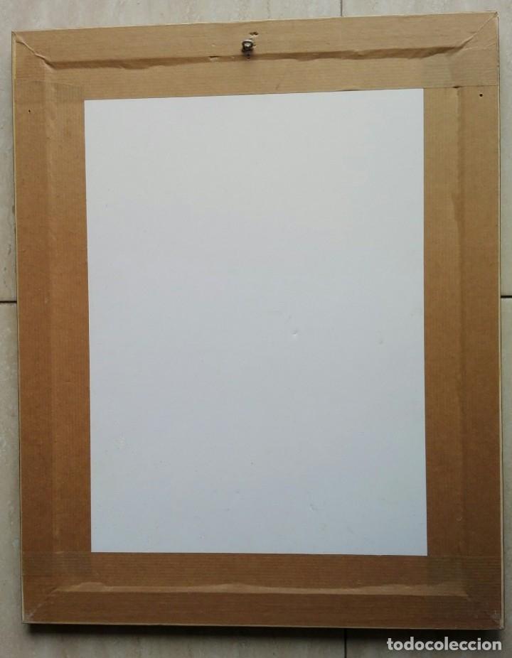 Arte: JOSEP PUIGMARTÍ - LITOGRAFIA 204 DE 499 - FIRMADA Y ENMARCADA 43 X 35 - Foto 4 - 162460192