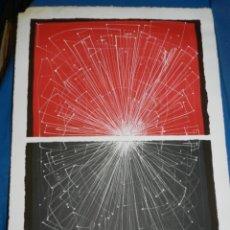 Arte: (M) LITOGRAFIA ARRANZ BRAVO 2/100 - 65X46 CM, LA LITOGRAFIA LE FALTA UN TROZITO EN UNA ESQUINA. Lote 162573142