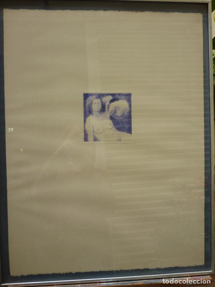 LITOGRAFIA DE ANTONI MUNILL PUIG- 9/12 (Arte - Litografías)