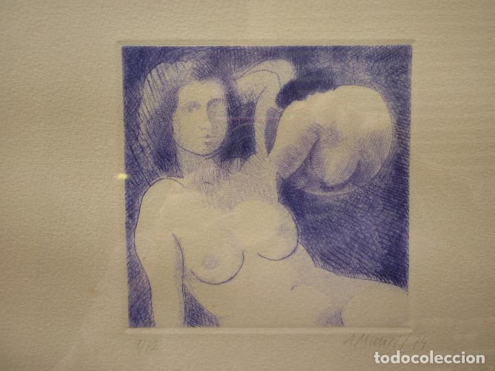 Arte: LITOGRAFIA DE ANTONI MUNILL PUIG- 9/12 - Foto 2 - 162787082