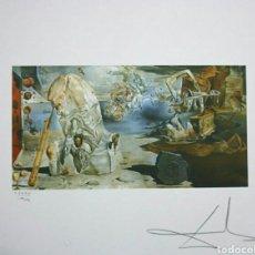 Arte: LITOGRAFÍA DE DALÍ, APOTEOSIS DE HOMERO, DE 1945 MEDIDAS 50 X 65 CM, FIRMADO Y NUMERADO. Lote 163047813