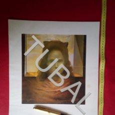 Arte: TUBAL SALVADOR DALI LITOGRAFIA GALA A CONTRALUZ CONTRALLUM 1980. Lote 163409226