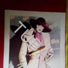 Arte: TUBAL LITOGRAFIA 1984 ATHENA LONDRES MICHELLE SYD BRAK MEIKLEJOHN. Lote 163413506
