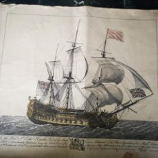 Arte: J BOYDELL, TO THE HONBLE SIR... 1747,. Lote 163605800