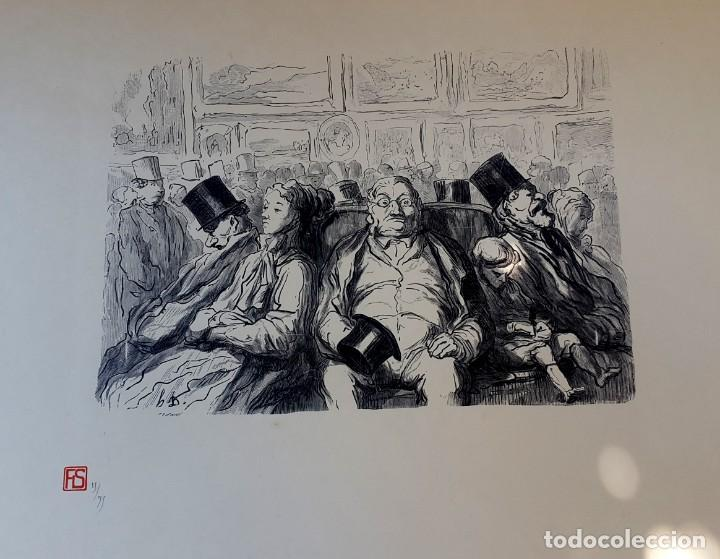 DAUMIER - LES PEINTRES - EXPOSITION (Arte - Litografías)
