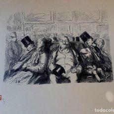 Arte: DAUMIER - LES PEINTRES - EXPOSITION. Lote 163775874
