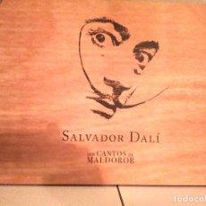 Arte: EDICION LIMITADA Y NUMERADA A 2.998 UD. LOS CANTOS DE MALDOROR, ILUSTRADOS POR SALVADOR DALI. Lote 163849550