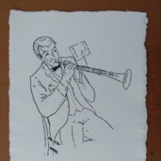 Arte: DIBUJO DE JOSEP BESTIT ABRIL 199 EJEMPLAR Nº 2984 DE 3500 PAPEL HECHO A MANO CAPELLADES. Lote 163852230