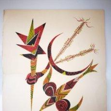 Arte: CARTEL LITOGRAFÍA RAFAEL ALBERTI 1976 - HOMENAJE A PABLO PICASSO. Lote 163880261