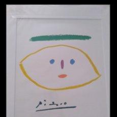 Arte: BONITA LITOGRAFIA DE PICASSO PHAEDRA ENMARCADA Y DE EDICION LIMITADA. Lote 164465352