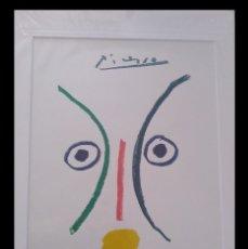Arte: BONITA LITOGRAFIA DE PICASSO LA ENAMORADA ENMARCADA Y DE EDICION LIMITADA. Lote 194364027