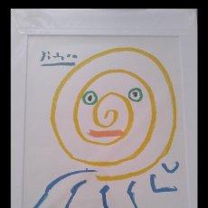 Arte: BONITA LITOGRAFIA DE PICASSO CIRCE DE EDICION LIMITADA Y ENMARCADA. Lote 164475164