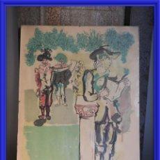 Arte: LITOGRAFIA DE MOLINA SANCHEZ (1918-2009) 53 X 36 CM. Lote 164579010