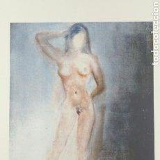 Arte: LITOGRAFÍA DE DALÍ, STUDY OF A FEMALE NUDE DE 1962, FIRMADO Y NUMERADO, 65 X 50 CM. Lote 164804377
