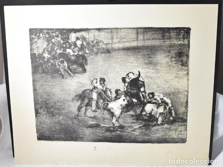 Arte: Edición facsímile de las 4 litografía Los Toros de burdeos de Francisco de Goya. Grabados - Foto 2 - 165067170