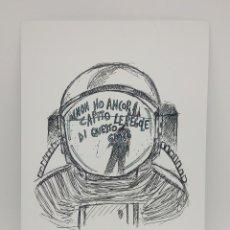 Arte: 'NON HO CAPITO' IMPRESIÓN DE EDICIÓN LIMITADA - ARTISTA MICHELA ROSSI (SHY). Lote 165115918