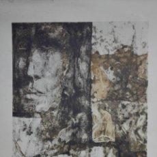 Arte: LITOGRAFIA FIRMADA SIN IDENTIFICAR, MEDIDAS 50 X 68 CM, Nº 37/50/1. Lote 165497114