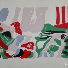 Arte: LITOGRAFIA FIRMADA SIN IDENTIFICAR, MEDIDAS 50 X 70 CM, Nº 356/500. Lote 165497414