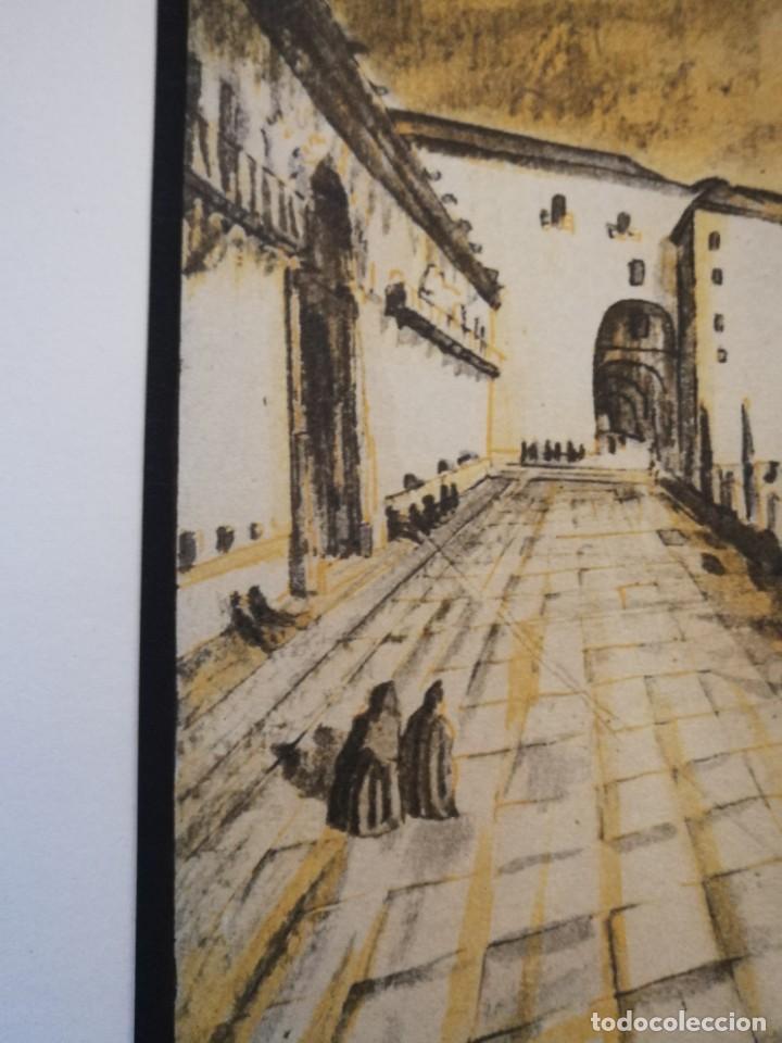 Arte: LITOGRAFIA 1932 SERGE SERGIO ROVINSKY.SANTIAGO D COMPOSTELA.GALICIA.LA ESPAÑA GRANDIOSA Y FANTÁSTICA - Foto 5 - 165959810