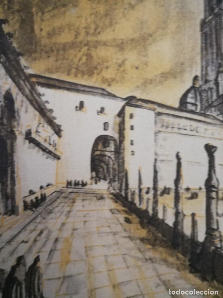 Arte: LITOGRAFIA 1932 SERGE SERGIO ROVINSKY.SANTIAGO D COMPOSTELA.GALICIA.LA ESPAÑA GRANDIOSA Y FANTÁSTICA - Foto 6 - 165959810