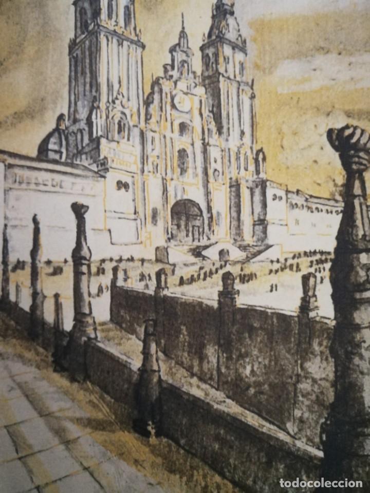 Arte: LITOGRAFIA 1932 SERGE SERGIO ROVINSKY.SANTIAGO D COMPOSTELA.GALICIA.LA ESPAÑA GRANDIOSA Y FANTÁSTICA - Foto 7 - 165959810