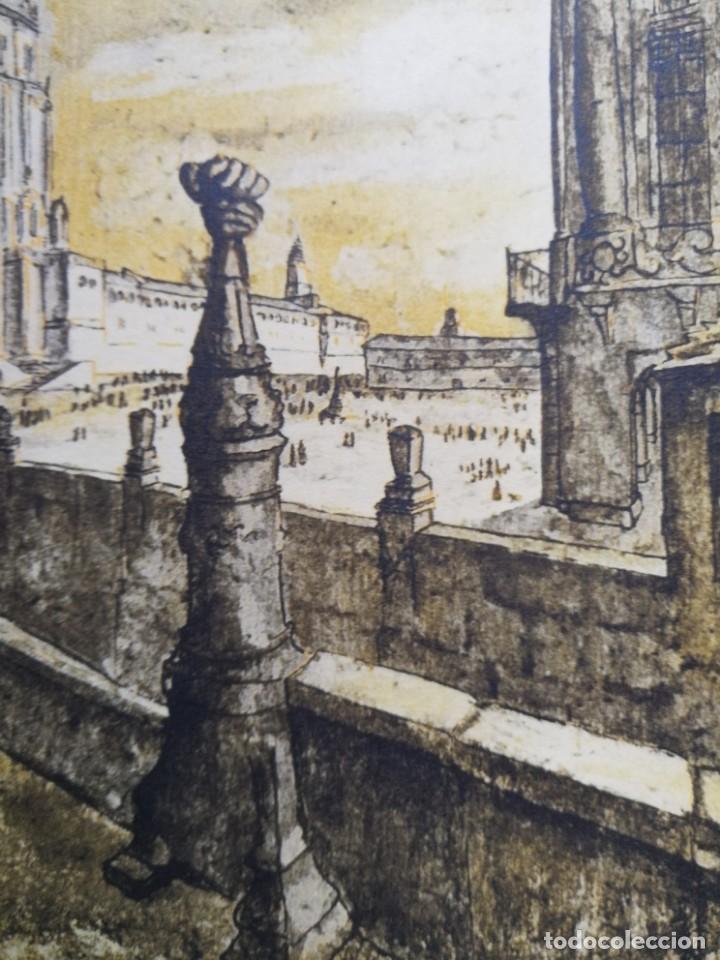 Arte: LITOGRAFIA 1932 SERGE SERGIO ROVINSKY.SANTIAGO D COMPOSTELA.GALICIA.LA ESPAÑA GRANDIOSA Y FANTÁSTICA - Foto 8 - 165959810