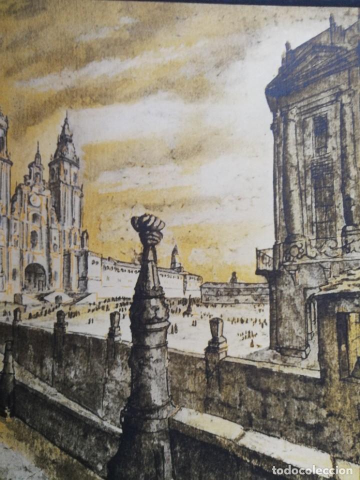 Arte: LITOGRAFIA 1932 SERGE SERGIO ROVINSKY.SANTIAGO D COMPOSTELA.GALICIA.LA ESPAÑA GRANDIOSA Y FANTÁSTICA - Foto 9 - 165959810