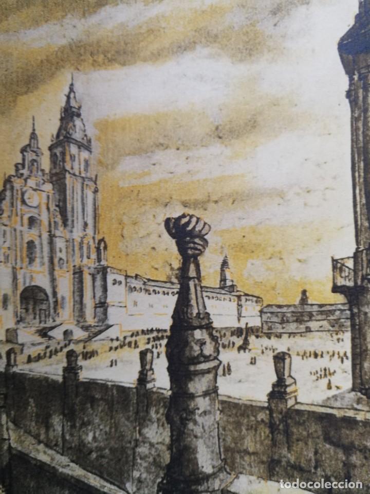 Arte: LITOGRAFIA 1932 SERGE SERGIO ROVINSKY.SANTIAGO D COMPOSTELA.GALICIA.LA ESPAÑA GRANDIOSA Y FANTÁSTICA - Foto 10 - 165959810