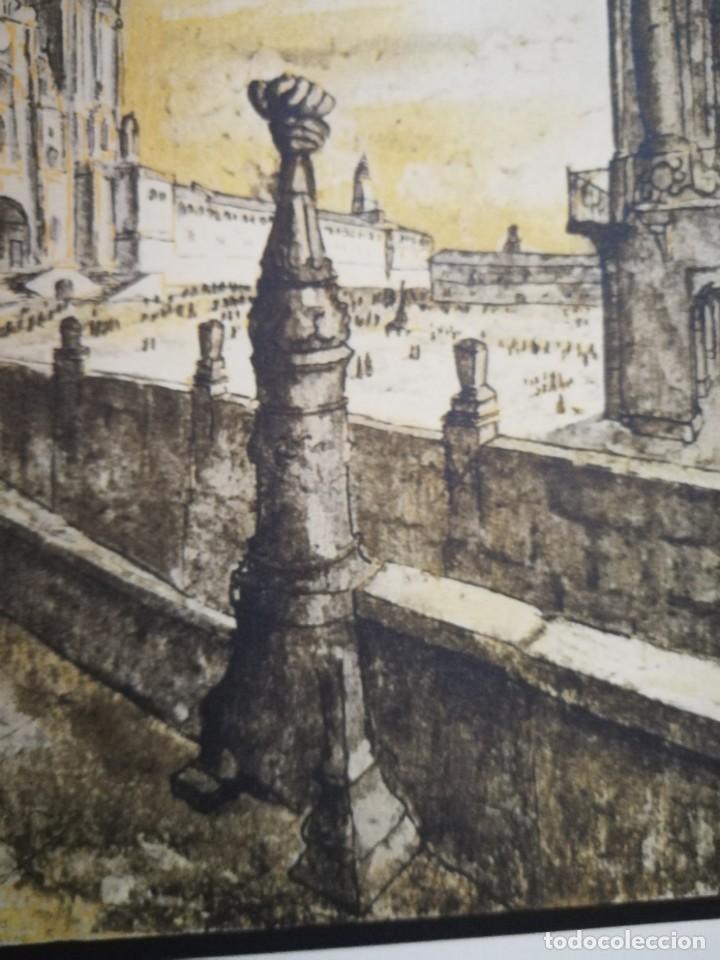 Arte: LITOGRAFIA 1932 SERGE SERGIO ROVINSKY.SANTIAGO D COMPOSTELA.GALICIA.LA ESPAÑA GRANDIOSA Y FANTÁSTICA - Foto 11 - 165959810