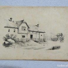 Arte: CARPETA DE 15 LITOGRAFIAS ORIGINALES DE CARL HERMANN BEYER (1869-1949) ALREDEDOR DE 1880. Lote 166927128
