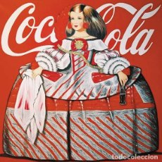 Arte: ANTONIO DE FELIPE, LITOGRAFÍA ORIGINAL FIRMADA. MENINA Y COCA COLA. PLANCHA MUY GRANDE.. Lote 194534590