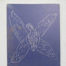 Arte: LIBRO ILUSTRADO POR MARC CHAGALL MUSEO DE ARTE, AÑO 1979,LES AMIS DU MUSÉE NATIONAL, SOLO 500 UNIDAD. Lote 166935652