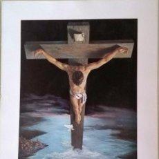 Arte: EL CRISTO DE LA PAZ. ORIGINAL PINTADO POR VICENTE ROSO.. Lote 167044376