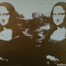 Arte: ANDY WARHOL, TWO GOLDEN MONA LISA, 1980 LITOGRAFÍA ORIGINAL COLECCIÓN JOSÉ MUGRABI. SERIELIMITADA. Lote 269688263