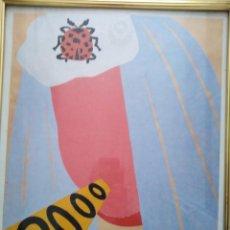 Arte: EDUARDO ARROYÓ ( LITOGRAFÍA) 40X50CTMS . Lote 167565544