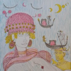Arte: TONO ZANCANARO, VENECIA, LITOGRAFÍA FIRMADA. Lote 167898148