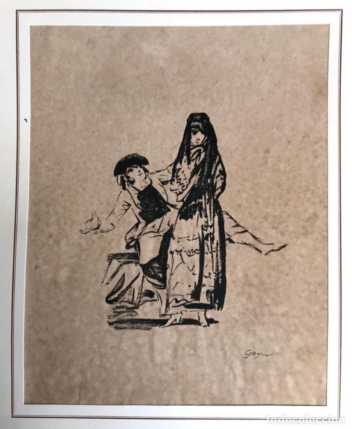 GOYA - FRANCISCO DE GOYA Y LUCIENTES (Arte - Litografías)