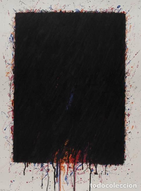 Arte: Bernd Berner, expresionismo abstracto, litografía de 1996 - Foto 19 - 168102432