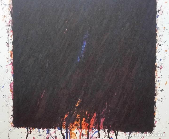 Arte: Bernd Berner, expresionismo abstracto, litografía de 1996 - Foto 3 - 168102432