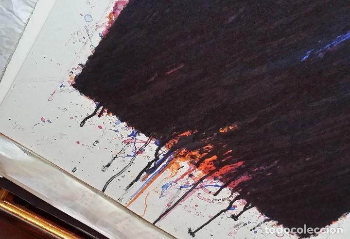 Arte: Bernd Berner, expresionismo abstracto, litografía de 1996 - Foto 6 - 168102432