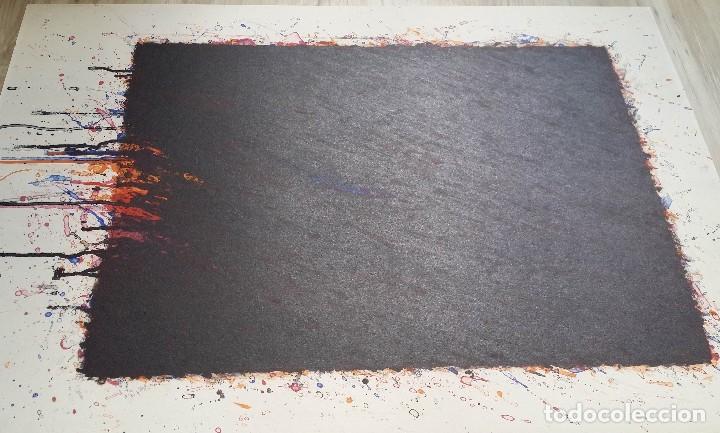 Arte: Bernd Berner, expresionismo abstracto, litografía de 1996 - Foto 7 - 168102432