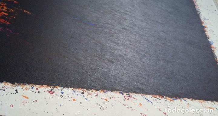 Arte: Bernd Berner, expresionismo abstracto, litografía de 1996 - Foto 9 - 168102432